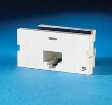 Series II, one-port Clarity 5E T568A/B, 180 degree, fog white