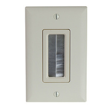 CABLE ACCESS WALL PLATE, LA