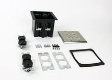 WMFB2DR2N Series Dual-Gang Floor Box Assembly