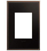 adorne® Oil-Rubbed Bronze One-Gang-Plus Screwless Wall Plate