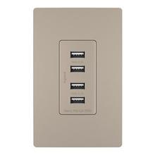 radiant® Quad USB Charger