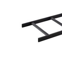 Telco Style Tubular Runway- 12 in - Black- 9 ft - 8 1/2 in