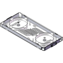 Compact Splice Tray, 12 Fiber for Q-Series Wall Mount Enclosures