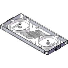 Compact Splice Tray, 12 Fiber for Q-Series Wall Mount Enclosures