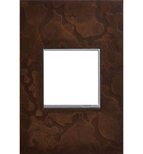 adorne® One-Gang Screwless Wall Plate in Hubbardton Forge® Bronze