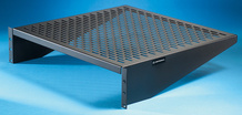 Standard Vented Equipment Shelf - 17.5 W x 4 in H x 16 in D in