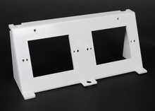Evolution Series Wall Box Replacement 2-Gang Device Bracket