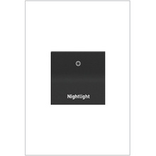 Engraved Paddle™ Switch, 20A, Graphite - Nightlight