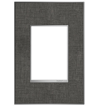 adorne® Slate Linen One-Gang-Plus Screwless Wall Plate