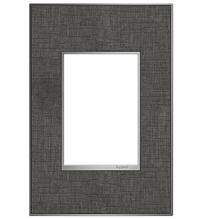 adorne® Slate Linen One-Gang-Plus Screwless Wall Plate
