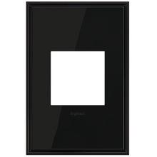 adorne® Black Nickel One-Gang Screwless Wall Plate