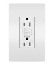 radiant® Spec-Grade 15A Weather-Resistant  Self-Test GFCI Receptacle