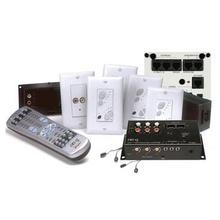 Discontinued | lyriQ 4-Zone Kit C/W Keypad with Power Supply, Light Almond