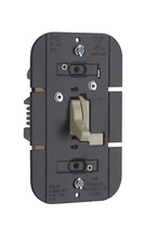 TradeMaster 1100W Incandescent Toggle Dimmer, Ivory