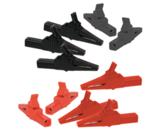 Shrouded Alligator Clip Adapters