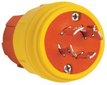 SteriGuard™ Turnlock Plug 20A, 3Φ480V