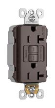 PlugTail® Spec-Grade Tamper-Resistant 20A Self-Test Duplex GFCI, Brown