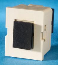 TracJack Module, 1-SC Simplex Multimode, 180 degree exit