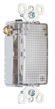 TradeMaster Enhanced Decorator Full Hallway Light without Light Sensor, Clear