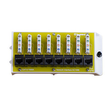 8 Port Cat6 Network Interface Module