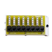 8 Port Cat6 Network Interface Module