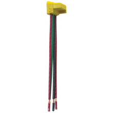 PlugTail® Switch Right Angle Connector 3-Wire, 6'' Solid THHN12 for 277V Applications