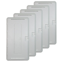 PLASTIC 30 IN TRIM & HINGED COVER (5PK)