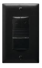 0-10V PIR Wall Switch Occupancy Sensor, 120/277V, Black
