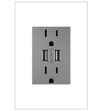 adorne® Dual-USB Outlet
