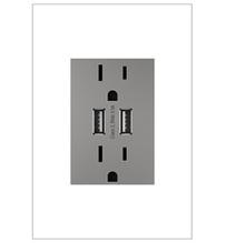 adorne® Dual-USB Outlet
