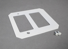 Evolution 8AT Series Crestron Double Gang Plate