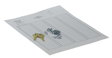 Replacement Key & Cover Hardware Kit - Hinged Cover