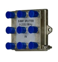 8-Way Vertical Coax Splitter (2 GHz)