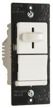 LS TradeMaster CFL/LED/Incandescent Single-Pole/3-Way, Preset Dimmer, White