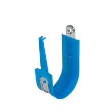 3'' Basic Blue Plastic Coated J-Hook w/ Latch Box of 25 [F000685]