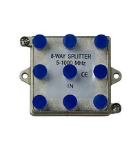 8-Way Vertical Coax Splitter (1 GHz)