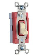 PlugTail® Three-Way 20 amp Toggle Switch, Ivory