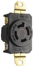 20 Amp NEMA L1420 Single Receptacle