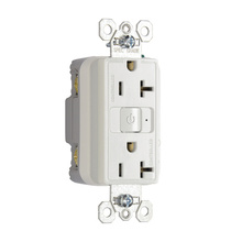 20A, 125V Plug Load RF Dual-Control Fed Spec Receptacle, White