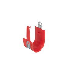 "2"" Red Plastic Coated J-Hook w/ Latch Box of 25 [F000675]"
