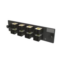 Q-Series Keyed OFP  Adapter Panel 16 Fibers, Black