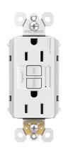 NAFTA-Compliant PlugTail® Spec-Grade 15A Self-Test Duplex GFCI, White