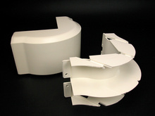 CableSmart 40N2 Radiused Full Capacity External Elbow Fitting