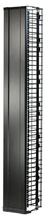 "MM20 Vertical Cable Manager with Door, 16"" Wide, for 8 ft (51U) Rack, Black"