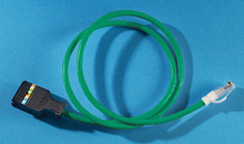 Clarity 6 110/Mod 8 Patch Cord, Category 6, 5'