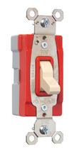 PlugTail® Single Pole 20 amp Toggle Switch, Light Almond