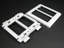 Wiremold 5400 Series Device Bracket Fitting, Ivory
