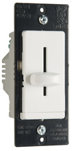 LS TradeMaster CFL/LED/Incandescent Single-Pole, Non-Preset Dimmer, White