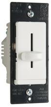 LS TradeMaster CFL/LED/Incandescent Single-Pole, Non-Preset Dimmer, White