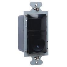 120V Single Pole/3-Way Occupancy/Vacancy Sensor, Black